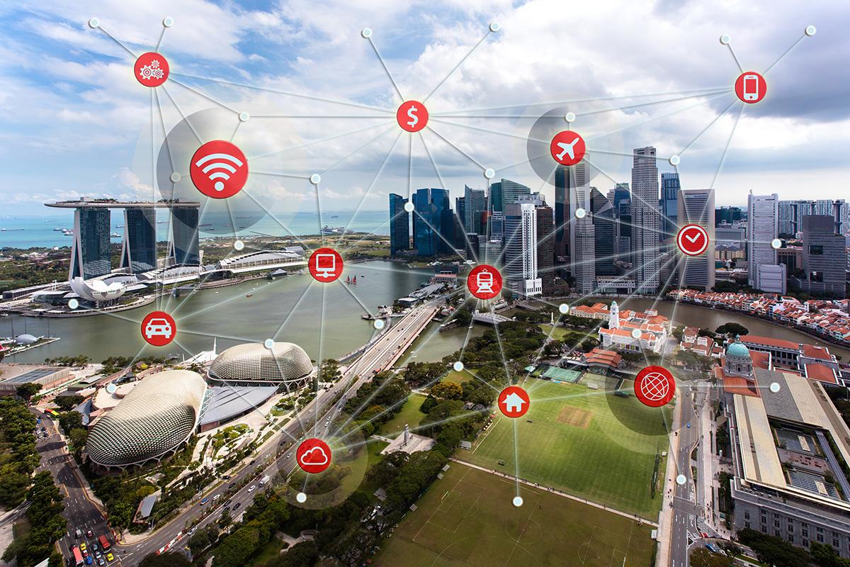 "SINGAPORE IS WORLD'S TOP ""SMART CITY"": JUNIPER RESEARCH"